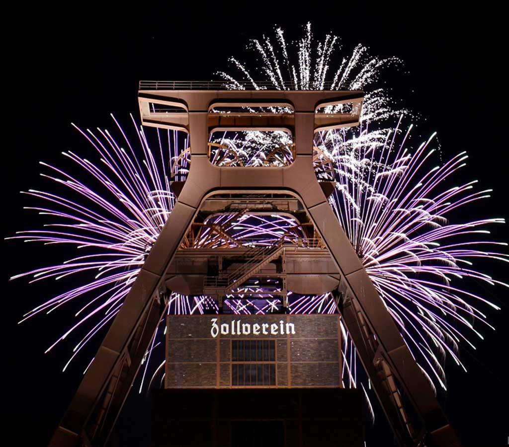 Zollverein-Feuerwerk